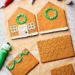 Kids Make Homemade Gingerbread Houses